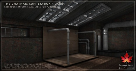FREE GIFT!! The Chatham Loft Skyboxes in SL- new and free for Facebook fans   Art, Science, Technologie et Mondes Virtuels   Scoop.it