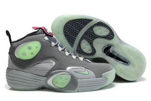 nike air flight one nrg all star galaxy dark grey and fresh mint and wolf grey men basketball shoes | new and share style | Scoop.it