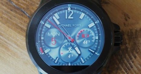 Michael Kors Brings Really, Really Big Design To AndroidWear I TechCrunch   CONNECTED OBJECTS   Scoop.it