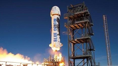 Blue Origin makes historic second landing using the same rocket | Gizmag | Robotics | Scoop.it