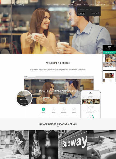 9 Best Premium WordPress Themes 2015 - May Designs | Creative Web Design Themes | Scoop.it