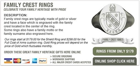 An introduction to Family Crest Rings   Family Pride   Scoop.it