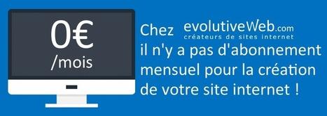 Création de site internet sans abonnement mensuel - Actualités - evolutiveWeb.com | Actus de l'agence, infos et conseils en e-communication et entrepreunariat | Scoop.it