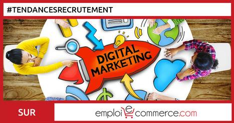 Les évolutions des métiers du Digital dans le Marketing et la Communication - Emploi-e-commerce | Communauté du e-commerce | Scoop.it
