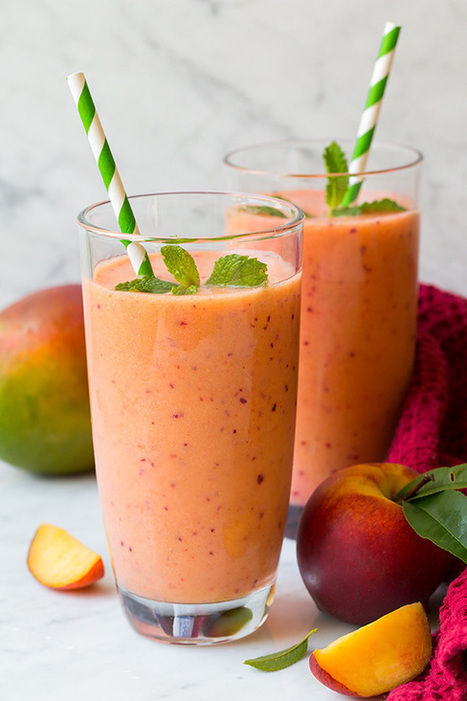 Mango Peach and Strawberry Smoothie - Cooking Classy | Passion for Cooking | Scoop.it