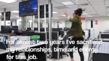 VIDEO. Elle démissionne sur YouTube en dansant sur fond de Kanye West   Notre pêche du web...   Scoop.it