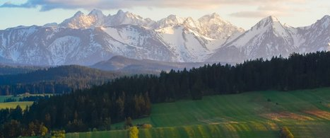 Polish map of the Tatras named the world's best map | Poland becomes trendy these days! | Scoop.it