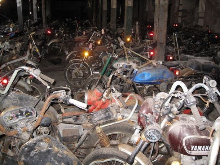 The Last Motorcycle Graveyard | Antiques & Vintage Collectibles | Scoop.it
