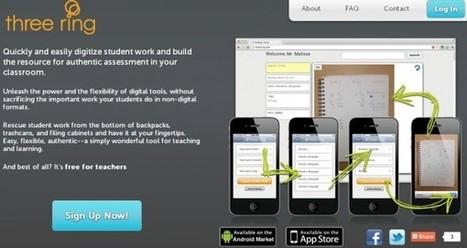 Three Ring, para organizar los trabajos de tus estudiantes en tu Android y iPhone | Utilidades TIC para el aula | Scoop.it