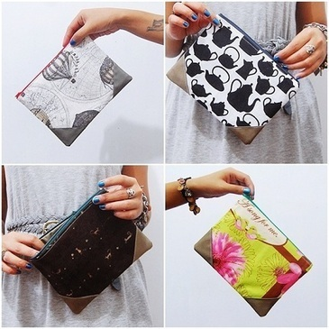 Tutorial: Corner tab zippered pouch · Sewing | CraftGossip.com | Sewing and Crafts | Scoop.it