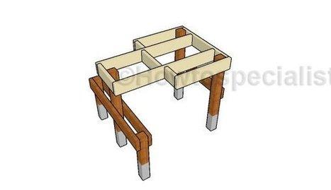 Shooting Bench | Garden Plans | Scoop.it