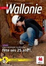 L'archéologie sous toutes les coutures dans le magazine «Vivre la Wallonie n°23″ de mars 2014 | Mégalithismes | Scoop.it