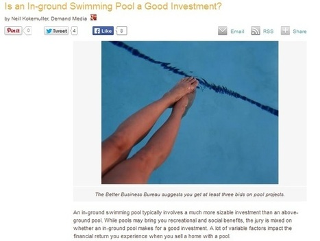 The Financial Side of Swimming Pools in Oshawa: Improving Home Value | Claudette Pools | Scoop.it