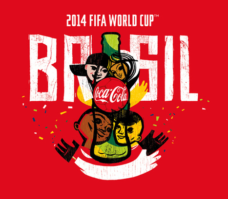 Creative Review - How a Brazilian street artist and a Leeds design studio created Coke's World Cup identity   Typography+Design   Scoop.it
