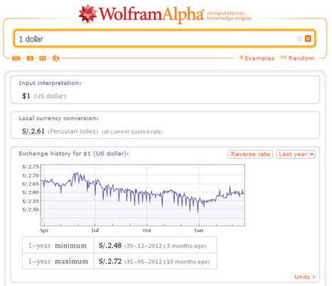 Wolfram Alpha como conversor de medidas técnicas a términos claros | tecno4 | Scoop.it