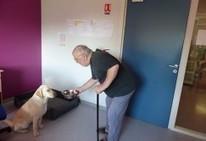 Un chien en maison de retraite, c'est bon pour le moral! - Notre Temps (Inscription) | Educateur canin en Alsace - Etoile des bergers | Scoop.it
