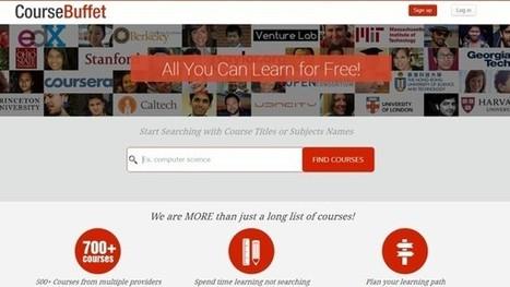 CourseBuffet, buscador y comparador de cursos en Coursera, EdX, Udacity y los demás | educacion-y-ntic | Scoop.it