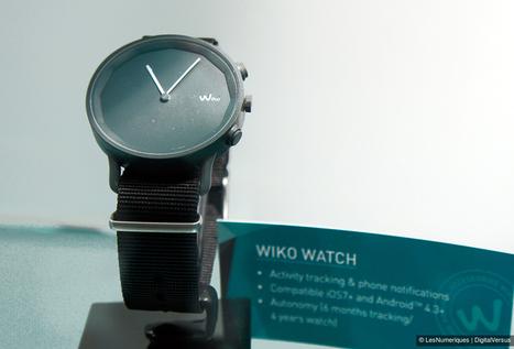 MWC 2015 – Wiko Watch, montre connectée à aiguilles pour ... - Les Numériques | Mobile Design | Scoop.it