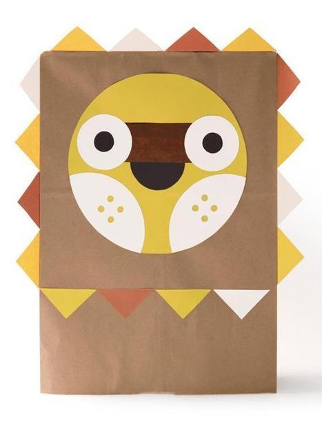 Fiche créative : Masque déguisement DIY lion par MelleK | Loisirs créatifs, DIY & activités manuelles | Scoop.it