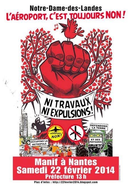 COLLECTIF ALSACE NDDL - EVENEMENTS: Notre-Dame-des-Landes : l'aéroport, c'est toujours non ! | #NDDL | #ZAD Partout | #GPII | Scoop.it