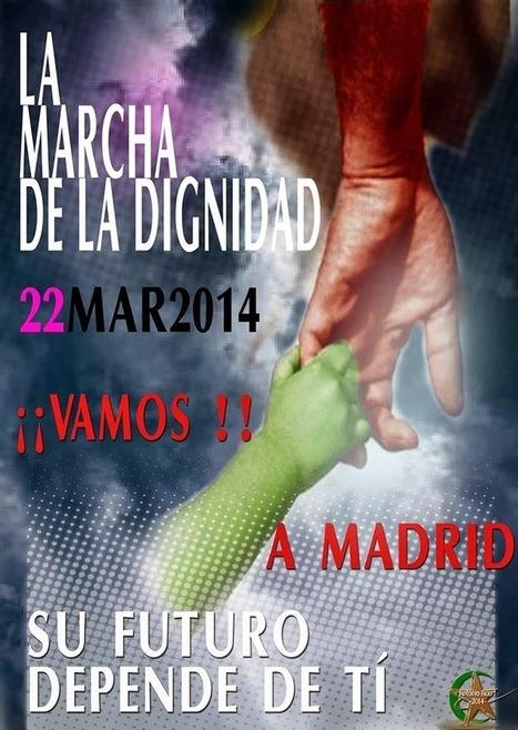 Comienzan en Murcia las Marchas de la Dignidad - Manifestación en apoyo del soterramiento | Bruno Jordán | Scoop.it