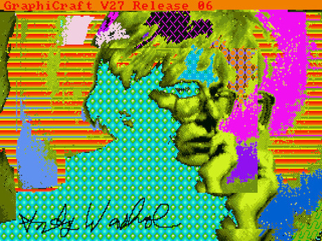 Warhol Computer Art Discovered on 1985 Floppy Discs | Arts visuels: questions & pratiques d'aujourd'hui | Scoop.it