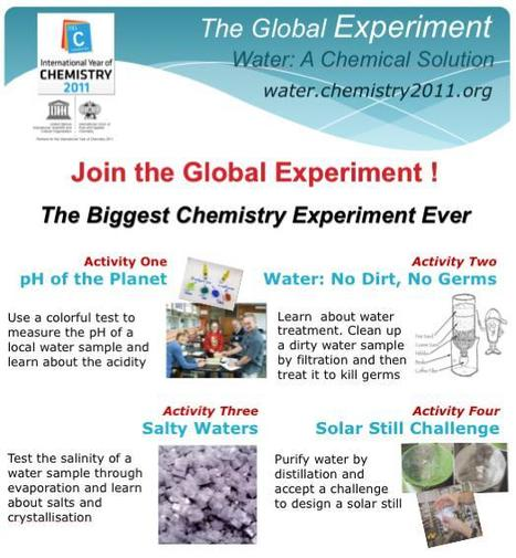 The Biggest Chemistry Experiment Ever? | Curious Minds | Scoop.it