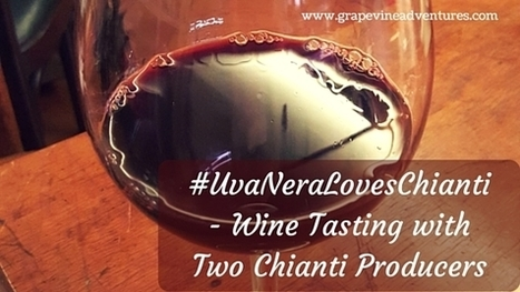 #UvaNeraLovesChianti - A Wine Tasting - Grapevine Adventures | Wine, history and culture... | Scoop.it