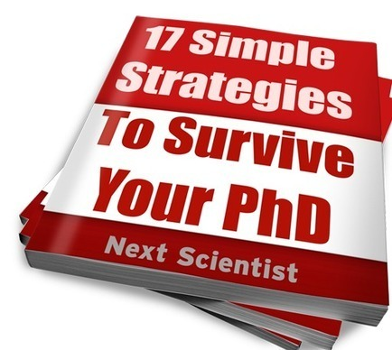 17 Simple Strategies to Survive Your PhD — Ebooks For PhD students | Research Methodology | Scoop.it