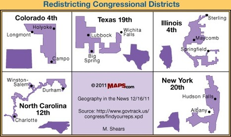 didjuno? voter identification and voting district gerrymandering | Geography in the News | Scoop.it