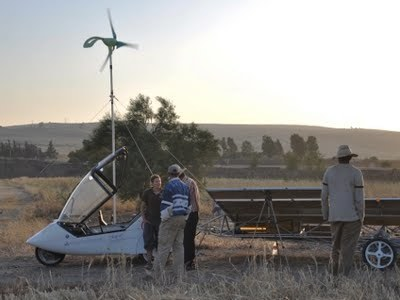 Proyecto Icare: recorriendo el mundo con un original coche eólico-solar   El autoconsumo y la energía solar   Scoop.it