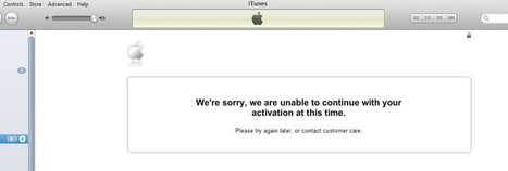 How to Fix iPhone Activation Problems | iPhone Unlocking Guides - iOS 7 - iOS 6 | Scoop.it