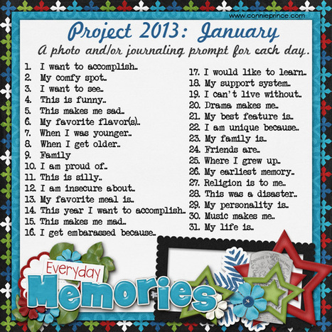 Project 2013 Photo / Journal Prompt A Day Challenge! | Journal For You! | Scoop.it