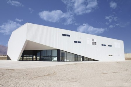 [Bastam, Semnan, Iran] Noor-e-Mobin Sports Hall / FEA Studio | The Architecture of the City | Scoop.it