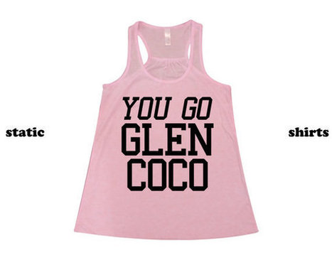 You Go Glen Coco Tank Top   Mean Girls Tanktop Singlet Razorback   T-Shirt   Scoop.it