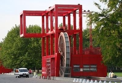 TECNNE | LAS FOLIES DEL PARC DE LA VILLETTE | The Architecture of the City | Scoop.it