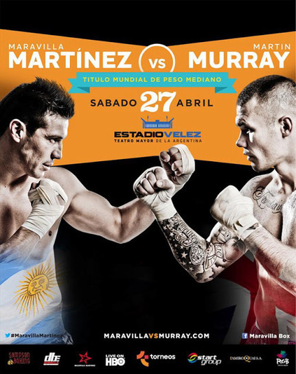 Espn 24/7 Live: Sergio vs Martin Live - Watch Martinez vs Murray Live Streaming PPV Boxing Tickets, Preview & More On Fox.TV - 27Th,Apr! | Sports 247 Live | Scoop.it