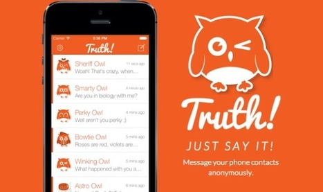 Truth Lets You Send Anonymous Texts | TechCrunch | Public Relations & Social Media Insight | Scoop.it