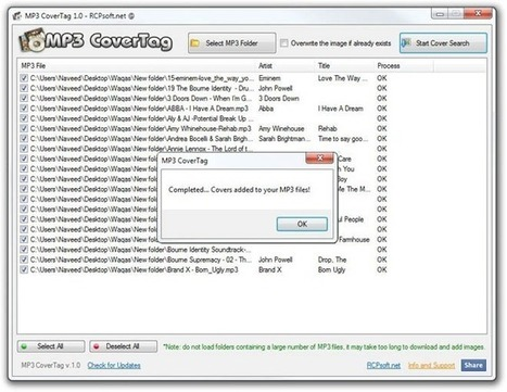 MP3 CoverTag: Automatically Download & Add Cover Art To MP3 Files | Time to Learn | Scoop.it