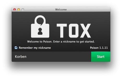 Tox - Un clone de Skype totalement sécurisé et décentralisé | Time to Learn | Scoop.it