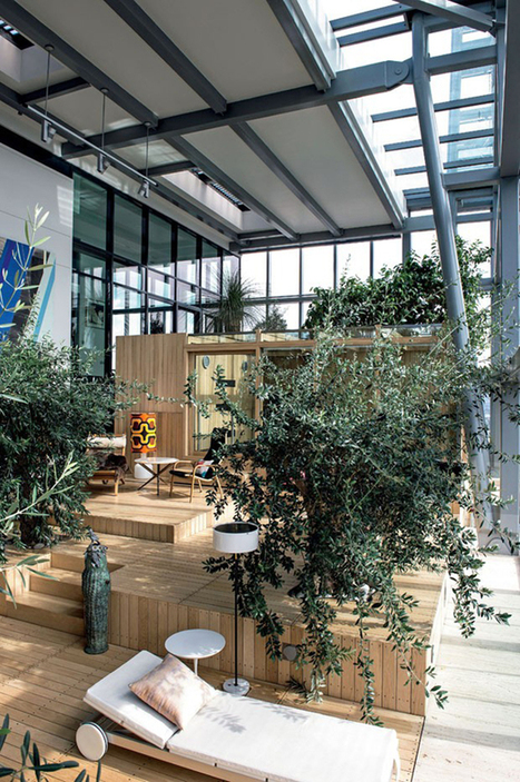 Somewhere I would like to live: Ian simpson´s home / indoors garden on top of a skycraper | Home Tour | Scoop.it