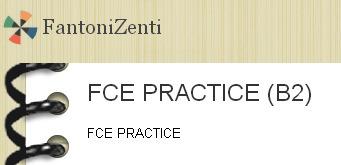 EXAM PRACTICE: FCE practice (B2)   ESL resources for B2   Scoop.it