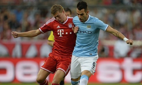 LIVE: Bayern Munich v Manchester City - follow all the action from the Audi Cup final as it happened | Munchen Bayern Soccer League | Scoop.it