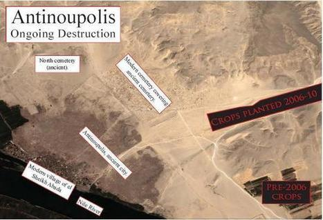 Italian scholars concerned about the damages in the site of Antinoupolis (Egypt) | Égypt-actus | Scoop.it
