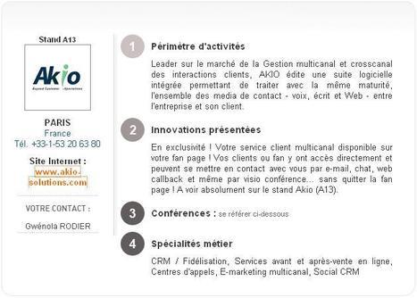 Les acteurs du marché des Agents Virtuels présents au Salon E-COMMERCE 2011 | E-commerce, logistique, search marketing | Scoop.it