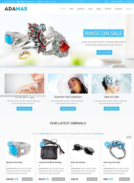 30+ Impressive WordPress eCommerce Themes   Wordpress Tips   Scoop.it