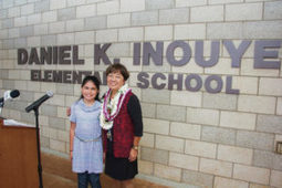 Elementary school at Schofield is renamed for Inouye | Daniel K. Inouye (Hale Kula) Elementary School - Where Eagles Soar | Scoop.it