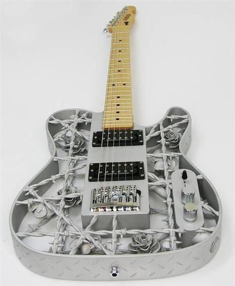Así es la primera guitarra de aluminio producida con impresión 3D | Impresión 3D | Scoop.it