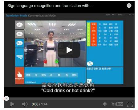 Des Chinois utilisent Kinect pour TRANSFORMER le langage des signes en texte, un système très ingénieux   Machines Pensantes   Scoop.it
