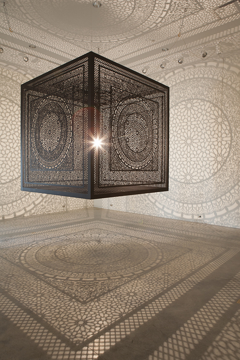 Anila Quayyum Agha: Intersections | Art Installations, Sculpture | Scoop.it
